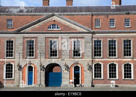 Ireland, Dublin, Castle, Upper Yard, - Stock Photo