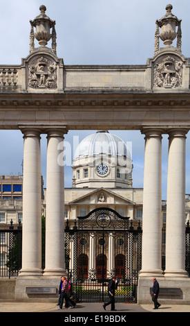 Ireland, Dublin, Government Buildings, - Stock Photo