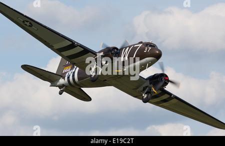 Douglas c-47 Skytrain - Stock Photo