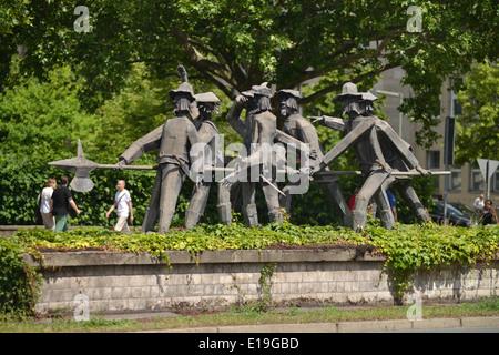 Sieben Schwaben, Fehrbelliner Platz, Wilmersdorf, Berlin, Deutschland - Stock Photo