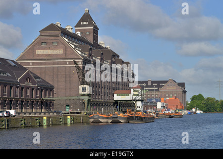 Lagerhaus, Behala, Westhafen, Berlin, Deutschland - Stock Photo