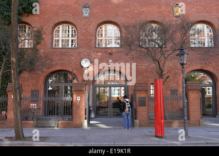 Deutsches Technikmuseum Trebbiner Strasse, Kreuzberg, Berlin, Deutschland - Stock Photo