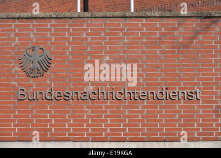 BND, Viktoriastrasse, Lichterfelde, Berlin, Deutschland - Stock Photo
