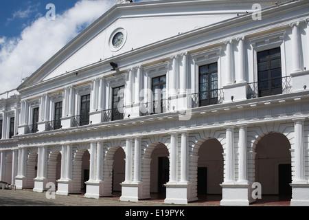 Palacio Municipal Plaza 31 Marzo San Cristobal de las Casas Chiapas Mexico - Stock Photo