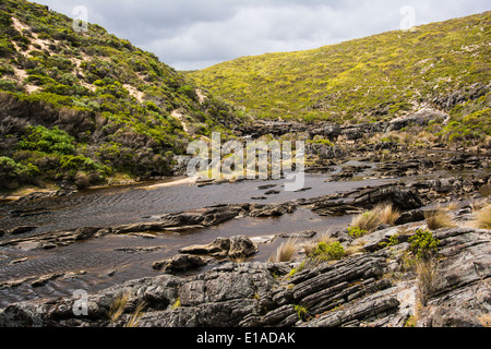 Rocky River, Snake Lagoon track, Flinders Chase National Park, Kangaroo Island, South Australia - Stock Photo