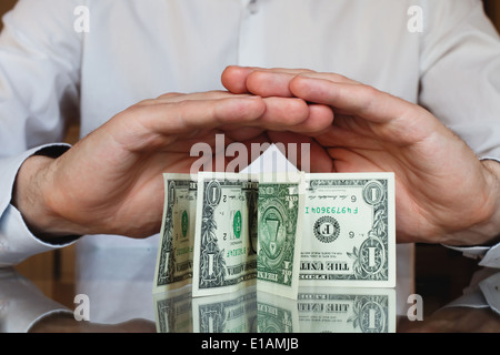protect your money, inflation - Stock Photo