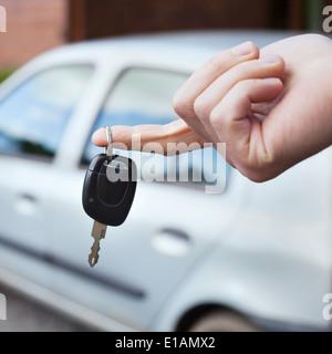 rent car - Stock Photo