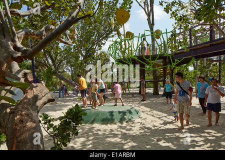 Garden By The Bay Children S Garden a view of the sandpit in the children's playground in prospect