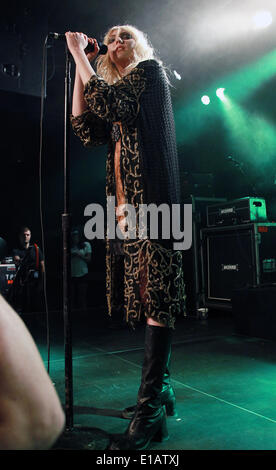 Las Vegas, Nevada, USA. 29th May, 2014. 05/28/14 NEW YORK, NY. Singer Taylor Momsen and her band The Pretty Reckless - Stock Photo