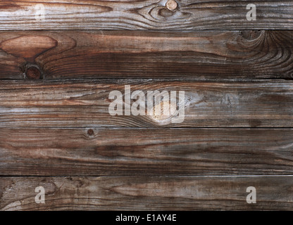 There is a lot of space for copy on this photograph of an old wood background. - Stock Photo