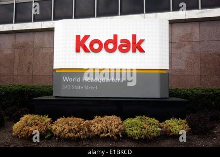 Kodak building in Rochester NY - Stock Photo