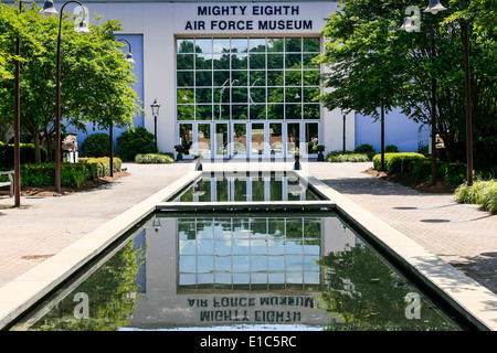 The Mighty Eighth Air Force Museum at Pooler GA - Stock Photo