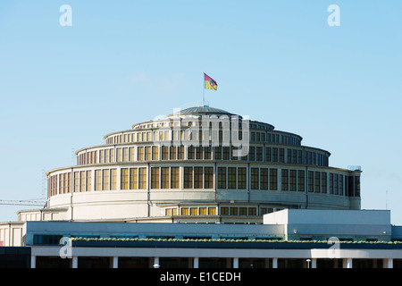 Europe, Poland, Silesia, Wroclaw, Centennial Hall, Unesco - Stock Photo