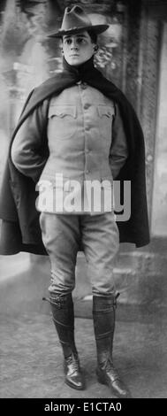 Major Douglas MacArthur, as an Engineering Officer on the Army General Staff during World War 1. Ca. 1916. (BSLOC - Stock Photo