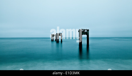 Ghost Pier - Stock Photo