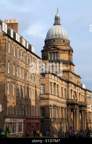 UK, Scotland, Edinburgh, University, Old College, - Stock Photo