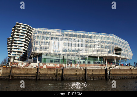 The Unilever Building at the HafenCity in Hamburg, Germany. - Stock Photo