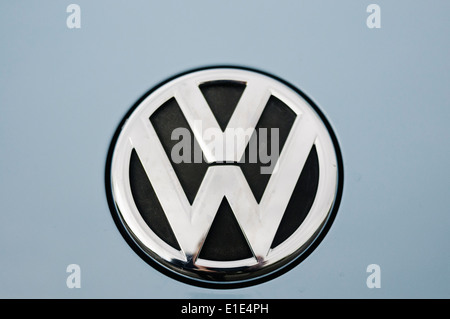 Volkswagon badge - Stock Photo