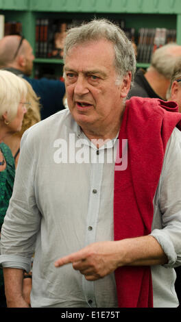 Hay on Wye, UK. 01st June, 2014. UK Stephen Frears Film Director of Philomena The Queen, My Beautiful Laundrette', - Stock Photo