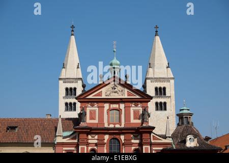 St. George's Basilica in Prague - Stock Photo
