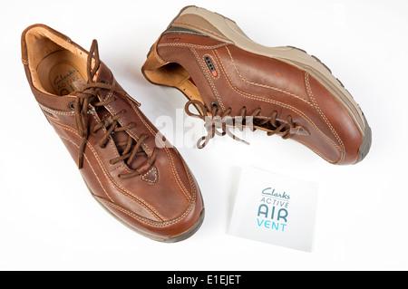 Clarks Active Air Vent Mens Shoes Stock Photo 70060395