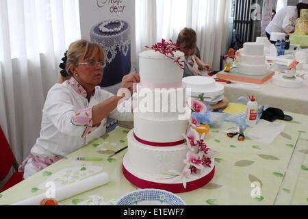 Cake Design Italian Festival Roma : Rome, Italy 1st June 2014 Cake Design Italian Festival ...