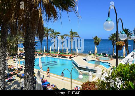 Swimming pool at the Qawra Palace Hotel, Qawra, Malta Stock Photo: 11994282 - Alamy