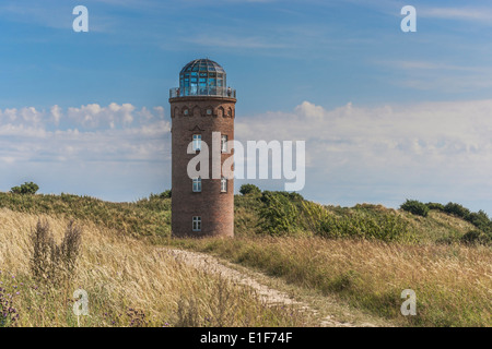 The former Marinepeilturm is located at Cape Arkona, Ruegen Island, Mecklenburg-Western Pomerania, Germany, Europe - Stock Photo