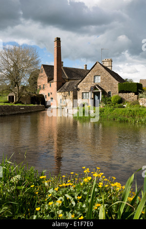 The Old Mill Museum on the River Eye - Stock Photo