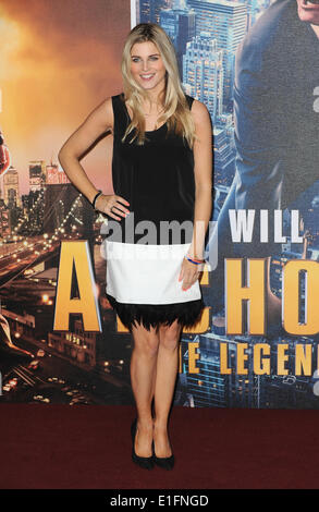 London, UK, UK. 11th Dec, 2013. Ashley James attends the UK premiere of ''Anchorman 2: The Legend Continues'' at - Stock Photo