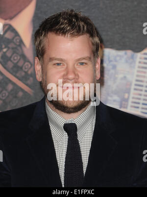 London, UK, UK. 11th Dec, 2013. James Corden attends the UK premiere of ''Anchorman 2: The Legend Continues'' at - Stock Photo