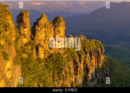 Three Sisters in the Blue Mountains - Stock Photo