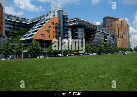 Berlin Mitte Potsdamer Platz Daimer architectures by Renzo Piano - Stock Photo
