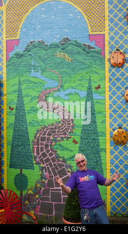 Randyland in Pittsburgh PA - Stock Photo