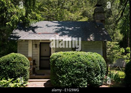 North Carolina two room cottage - Stock Photo