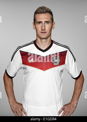 FIFA World Cup 2014 - photocall Team Germany, 24 May 2014 in Passeier, Italy: Miroslav Klose. Photo credit: Bongarts/Getty - Stock Photo