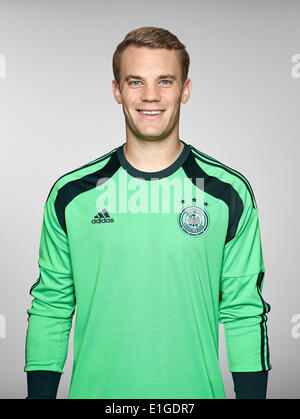 FIFA World Cup 2014 - photocall Team Germany, 24 May 2014 in Passeier, Italy: Manuel Neuer. Photo credit: Bongarts/Getty - Stock Photo
