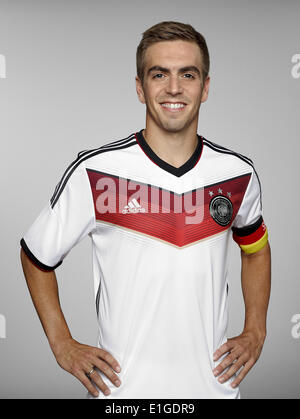 FIFA World Cup 2014 - photocall Team Germany, 24 May 2014 in Passeier, Italy: Philipp Lahm. Photo credit: Bongarts/Getty - Stock Photo