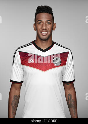 FIFA World Cup 2014 - photocall Team Germany, 24 May 2014 in Passeier, Italy: Jerome Boateng. Photo credit: Bongarts/Getty - Stock Photo