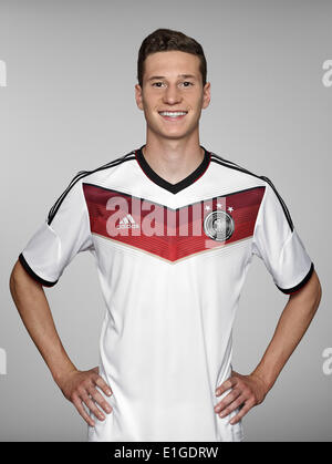 FIFA World Cup 2014 - photocall Team Germany, 24 May 2014 in Passeier, Italy: Julian Draxler. Photo credit: Bongarts/Getty - Stock Photo