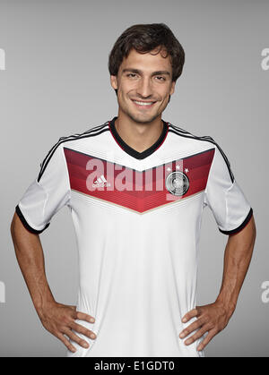 FIFA World Cup 2014 - photocall Team Germany, 24 May 2014 in Passeier, Italy: Mats Hummels. Photo credit: Bongarts/Getty - Stock Photo