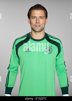 FIFA World Cup 2014 - photocall Team Germany, 24 May 2014 in Passeier, Italy: Roman Weidenfeller. Photo credit: - Stock Photo