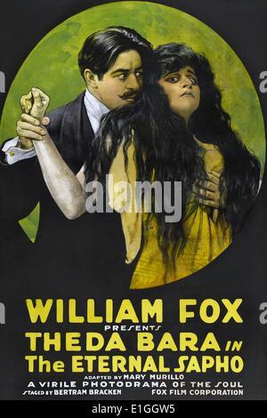'The Eternal Sapho' (also known as A Modern Sapho and The Eternal Sapho) a 1916 American silent drama film. - Stock Photo