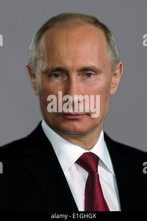 Vladimir Putin (born 1951). President of Russia since 7 May 2012. He previously served as President from 2000 to - Stock Photo