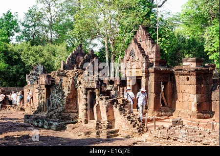 Banteay Srei Temple - Stock Photo