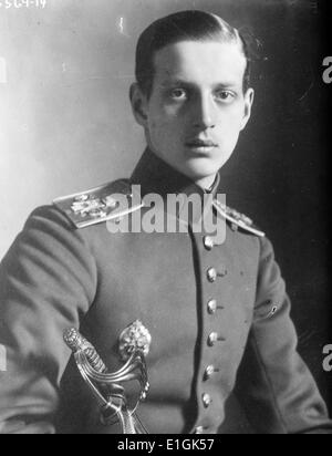 Prince Dimitri Alexandrovich of Russia (15 August 1901 – 7 July 1980) was a son of Grand Duke Alexander Mikhailovich - Stock Photo