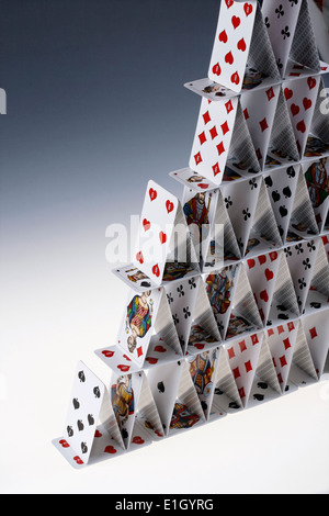 house of cards - Stock Photo