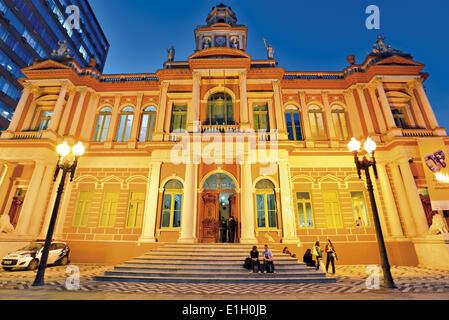 Brazil, Rio Grande do Sul, Porto Alegre, town hall, city hall, mayor s office, historic building, history, South - Stock Photo