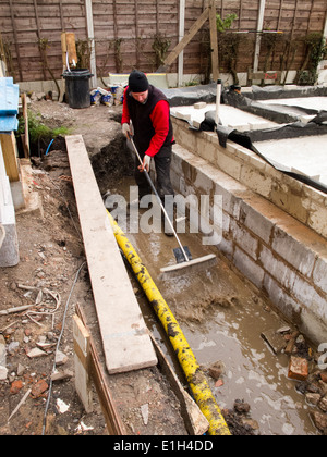 Self building house environmentally friendly construction for Environmentally friendly concrete cleaner