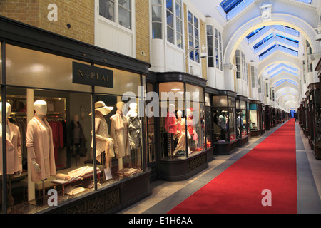 UK, England, London, Burlington Arcade, shops, - Stock Photo